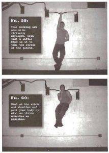 traction une main - l'entraînement d'un détenu