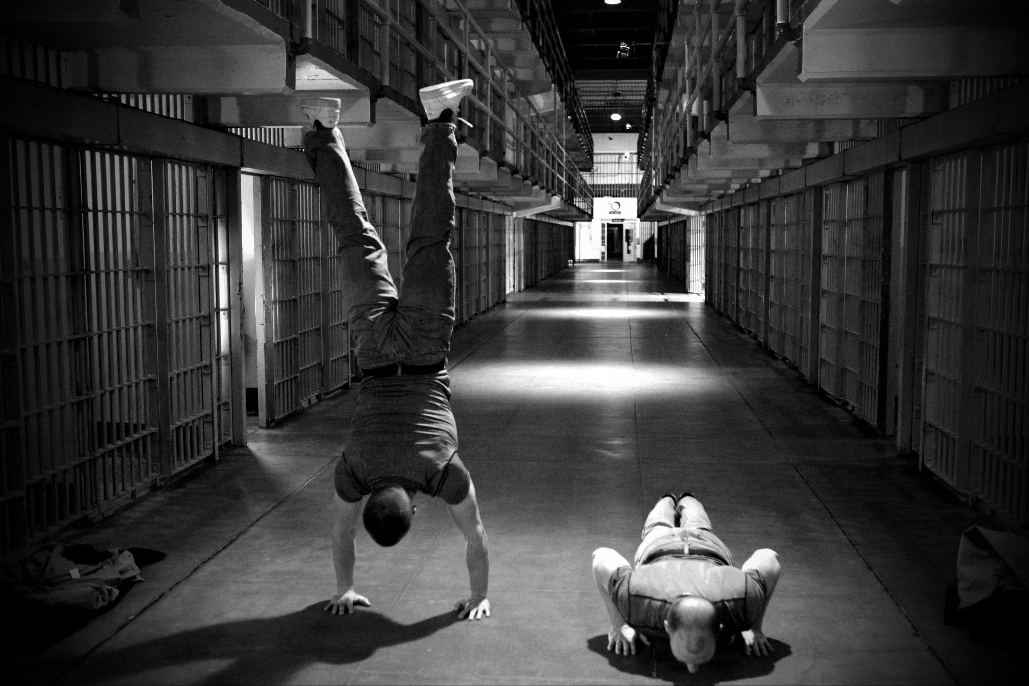 AVIS : L'entraînement d'un détenu de Paul Wade